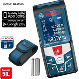 Medidor Laser Glm50c Bosch Profesional 40m G P A Maquinarias