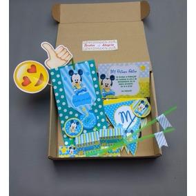 Party Box Clásica! Kit De Decoración Cumple Y Mesa Dulce!