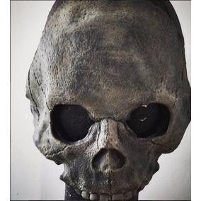 Máscara Craneo Calavera Latex Horror Halloween
