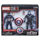 Figuras Capitán América & Crossbones Marvel 10th Anniversary