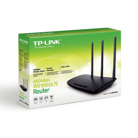 Router Tp-link Tl-wr 940n 3 Antenas 5dbi 450 Mbps Nuevo 2.4