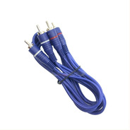 Cable 2 Rca 2 Rca Para Pc Notebook Mp4 La Roca