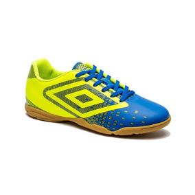 ed39b7c57f74e Chuteira Futsal Umbro - Chuteiras Umbro de Futsal para Adultos Azul ...