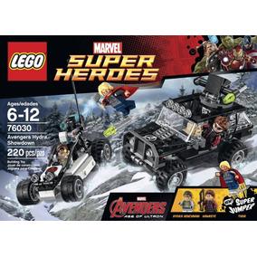Lego Marvel Super Heroes 76030 220 Peças Pronta Entrega