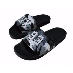 Chinelo Qix Camuflado Cinza 109005 Ds Skate Shop