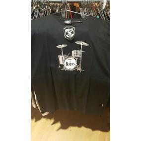 Remera Vitalogy Beatles Drum - Talle S, M, L, Xl, Xxl
