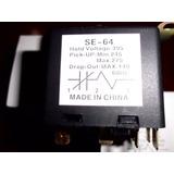 Rele Potencial De Arranque Se-64/qrf-6 De 1 A 3 Hp 220 Volts