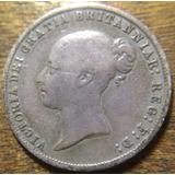 Conatus - Raríssima Moeda Antiga Inglaterra - 6 Pence 1866