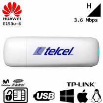Banda Ancha Movil Huawei E153 Telcel Movistar Bam Usb Modem