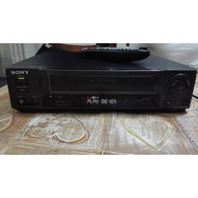 Video Cassete Sony Slv-40br 4 Cabeças Com Controle Remoto