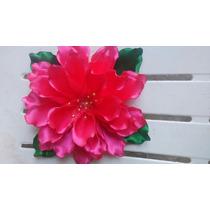 Prendedor De Flores Para Traje Regional De Liston De Tela
