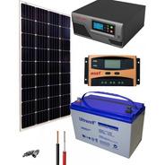 Planta Solar 600 Watt Kit Solar Basico Casa, Camping, Finca