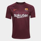 Camisa Barcelona Third 17/18 S/n° - Torcedor Nike Masculina