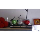 Cerezas Frutas Decorativas