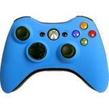 ¡¡ Control Inalambrico Azul Para Xbox 360 En Wholegames !!