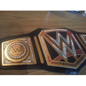 Cinturon Wwe Campeon Pesado Tamaño Real