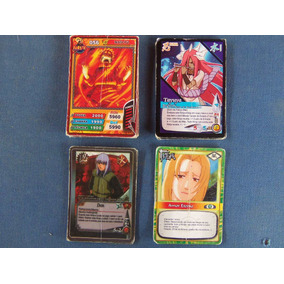 Lote De Cartas Naruto Pequenas