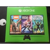 Xbox One Nuevo + Kinect, 500 Gb + 3 Juegos, Nuevo