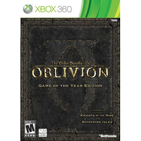 The Elder Scrolls Iv 4 Oblivion Game Of The Year Ed Xbox 360