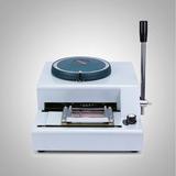 Máquina Para Estampar Letras En Tarjetas Pvc -