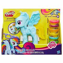 Masa Play Doh My Little Pony Peinados De Colores Orig Hasbro
