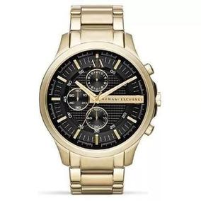 689becbbce3 Relógio Dt3 Armani Exchange Ax2137 Dourado Preto Novo Oferta