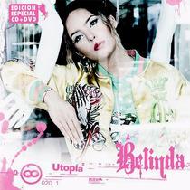 Cd + Dvd Set Belinda Utopia Edicion Especial Novo Lacrado