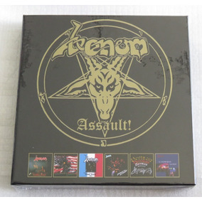 Venom Assault! 6 Cd Box Canadian American Japanese Assault