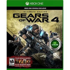 Gears Of War 4 Ultimate Edition Xbox One Esp Latino + Envio