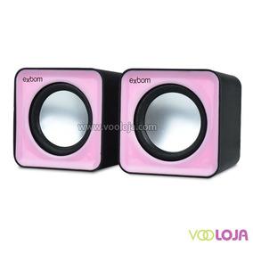 Exbom Caixa De Som 2.0 P/ Pc E Smartphone Cs-32