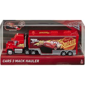 Disney Cars 3 Mack Hauler Caminhão Do Mcqueen Mattel Lacrado