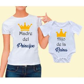 Playera Baby Shower Mama Papa Playeras Manga Corta Mujer en Mercado ... b53d459b5af72