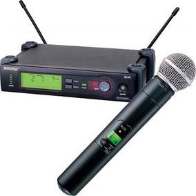 Microfone Shure Slx24 Beta 58 Original.sem Fio+nota Fiscal.