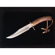 Cuchillo Gredos 160mm Asta De Ciervo C/funda  Marca Muela
