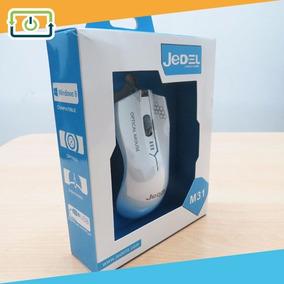 Mouse Óptico Jedel M31 Usb Led Alámbrico Para Laptop Pc Mac