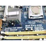 Motherboard Asrock Conroe1333-d667 Sockete 775 Trabajando
