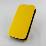 Funda Piel Flip Lg Google Nexus4 E960 Amarillo+envio Gratis