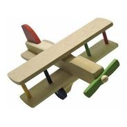 Avião Colorido De Madeira Maninho 213.2