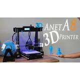 Impresora 3d Anet A8: Autocalibración Y Gran Tamaño
