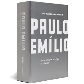 Caixa Paulo Emílio - Cinema + 2 Dvds Obra Jean Vigo 35% Off