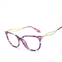 Armação Óculos De Grau Quadrado Gatinho Médio Feminino Xa