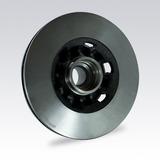 Kit X2 Discos De Freno Delanteros Chevrolet Silverado