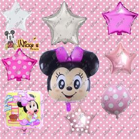 43 Globos De Minnie Mouse Bebe Fiesta Tematicas Envio Gratis