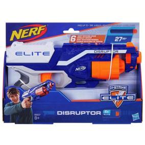 Nerf Elite Disruptor 21m Pistola + 6 Dardos De Goma Hasbro