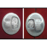 Moneda Venezolana Doblon De Plata 10 Bs De 1973