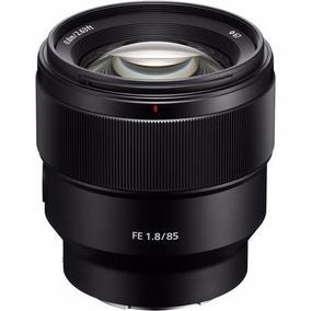 Lente Sony Fe 85mm F/1.8 E-mount Nex Sel85f18