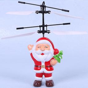 Bonecos Voadores Papai Noel Natal Drone Helicóptero Que Voa