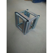 Cubo 5 Faces Treliças Box Truss Q25 Aço  - Lourenço