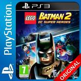 Lego Batman 2 Dc Super Heroes Ps3 Digital Nº1 En Ventas (c2)