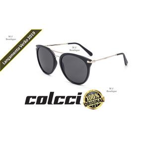 f5638cc5d7511 Óculos Sol Colcci Linda Preto Brilho C0095a3401 Original